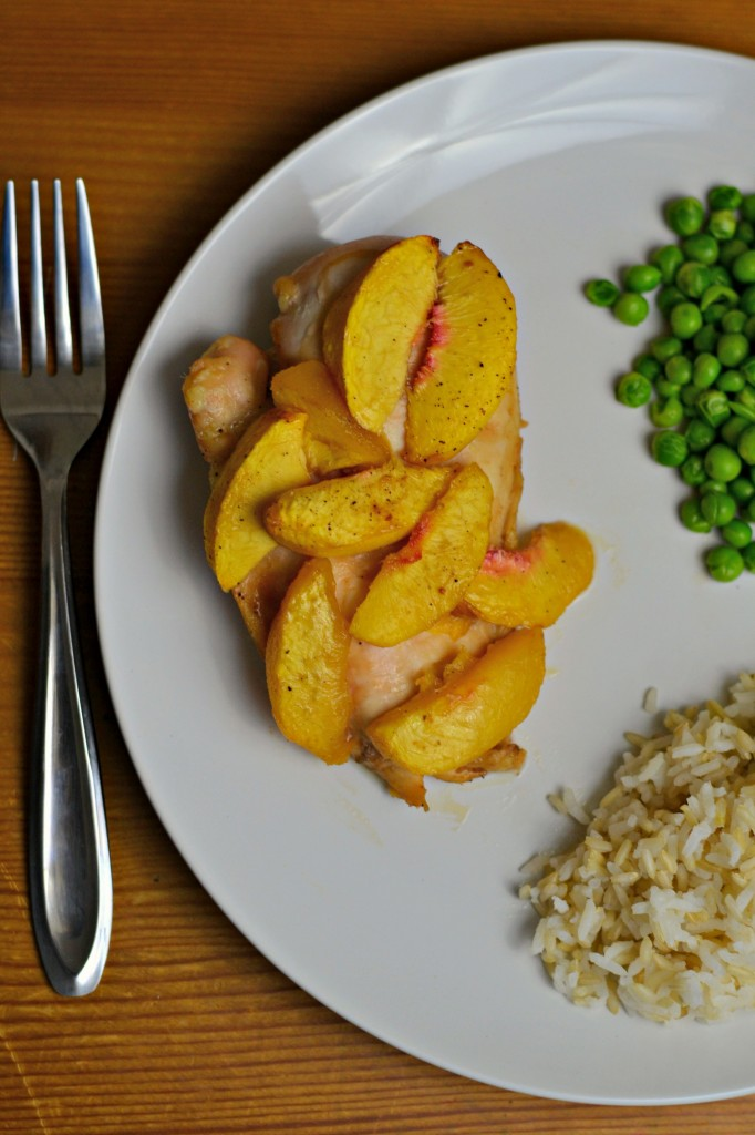 This peachy chicken recipe is easy, delicious, and a great twist on the original baked chicken recipe.