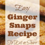 Easy Ginger Snaps