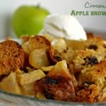 Cinnamon Raisin Apple Brown Betty