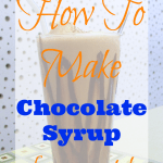 How To Make Chocolate Syrup