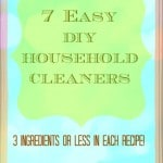7 Easy DIY Household Cleaners