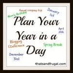 How to Plan Your Year in a Day