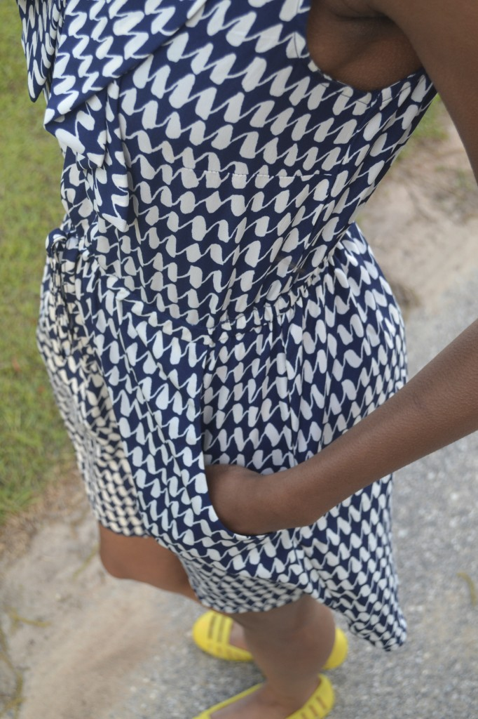 #FashionFriday, thrift store dress, thrifting
