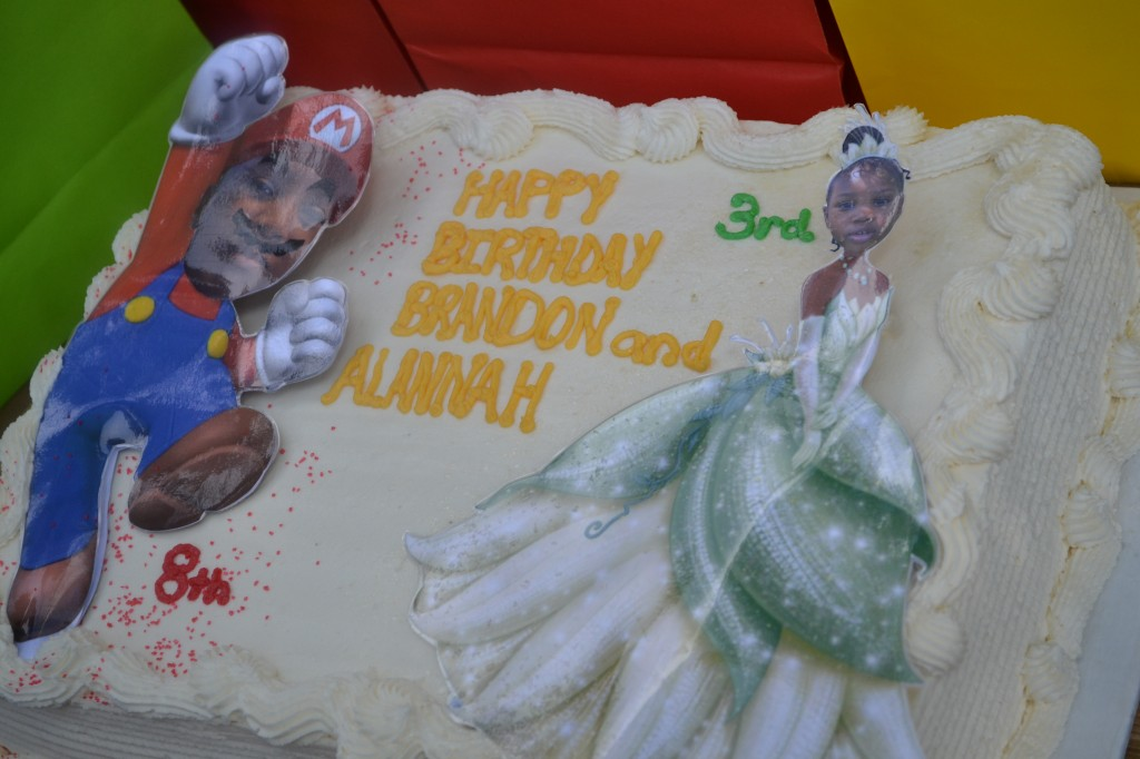 personalized faces on the kids's favorite characters. Great cake toppers!