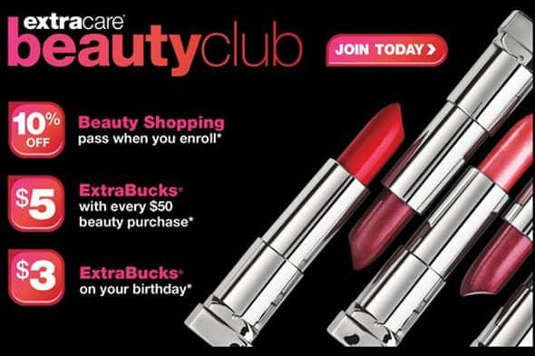 CVS Beauty Club benefits