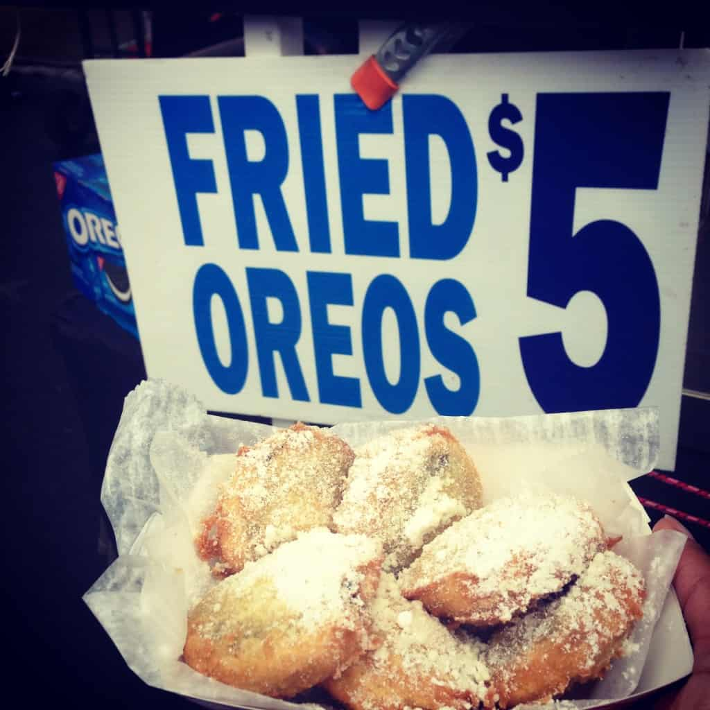 Friend Oreos at the Highlands Clam Festival in NJ