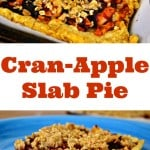 Cran-Apple Slab Pie