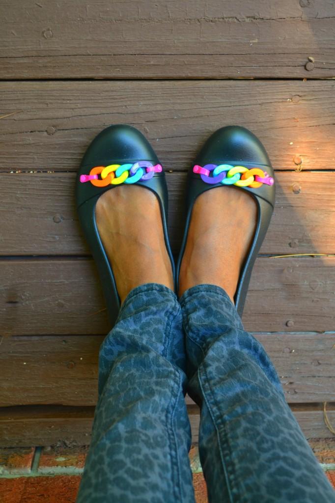 Gianna flats from Crocs