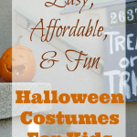 Easy, Affordable, and Fun Halloween Costumes