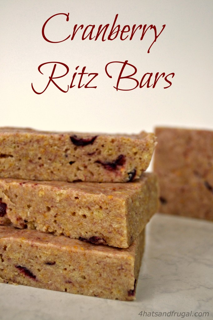 Looking for a way to use up that cheap canned cranberry sauce? These cranberry ritz bars are no-bake, easy and so good.