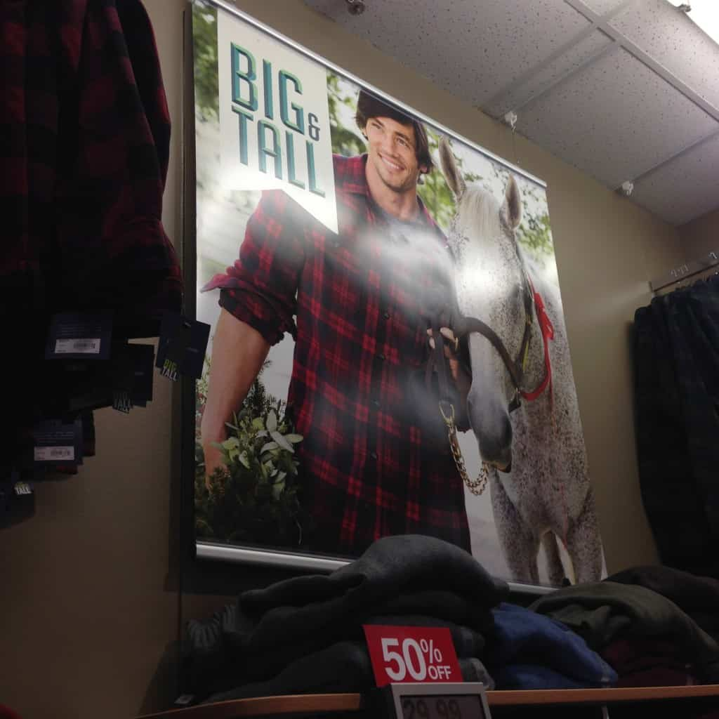 Big and Tall clothing for cheap