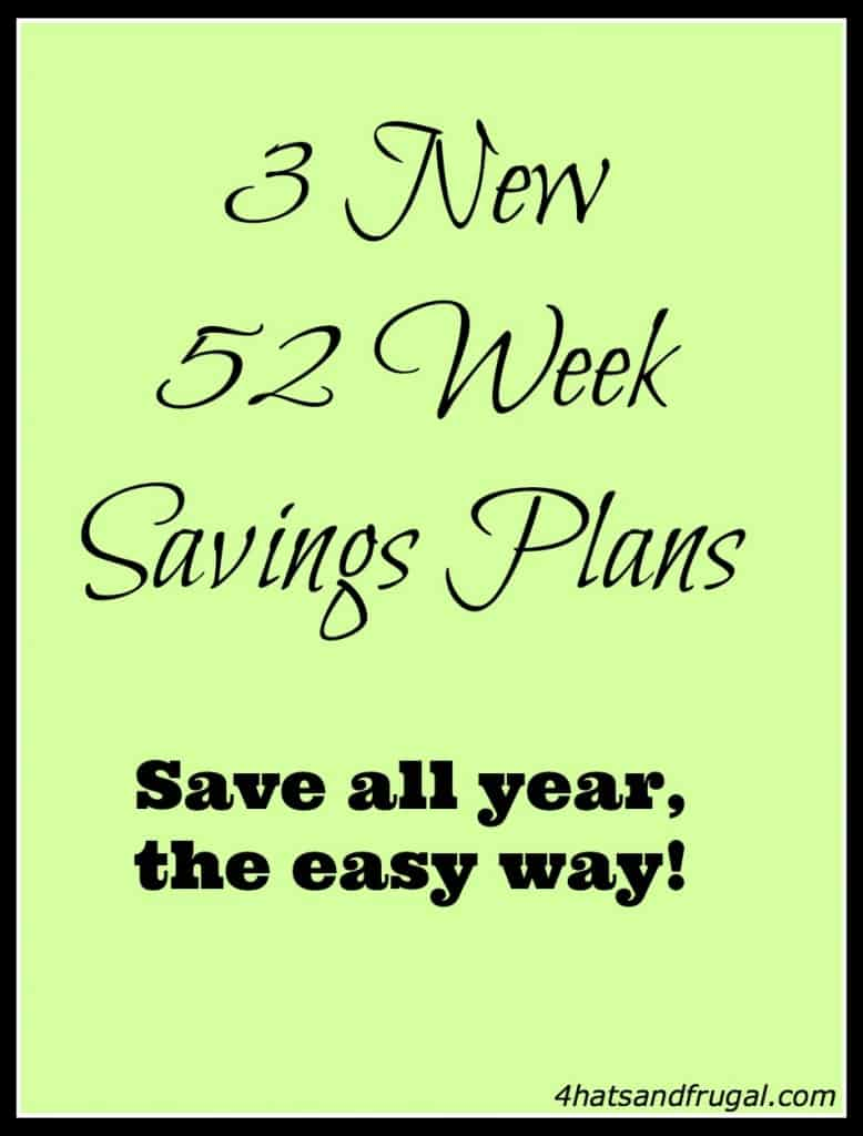 check out these 3 new 52 week savings plans and make 2014 a prosperous year!