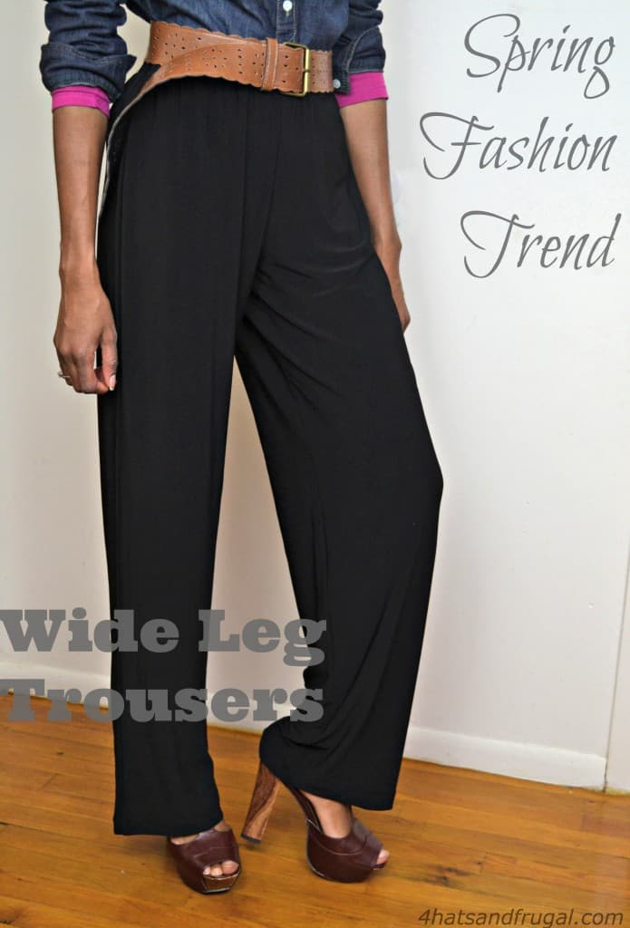 how to wear wide leg trousers in the winter and spring #ThisIsStyle #Cbias #shop