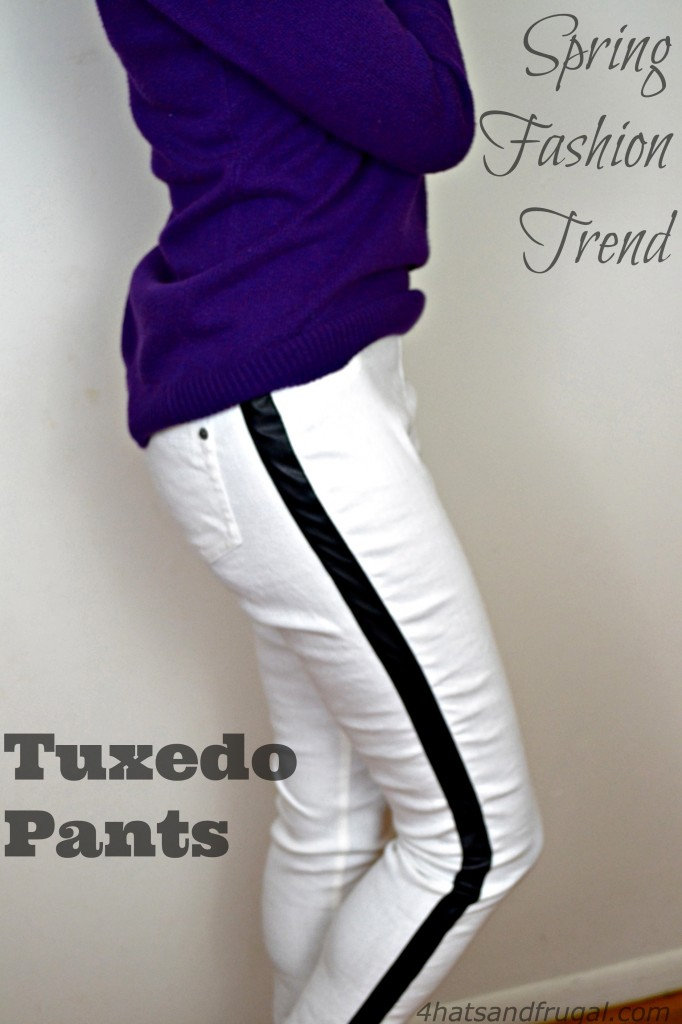 how to wear tuxedo pants in the winter and spring #ThisIsStyle #cbias #shop