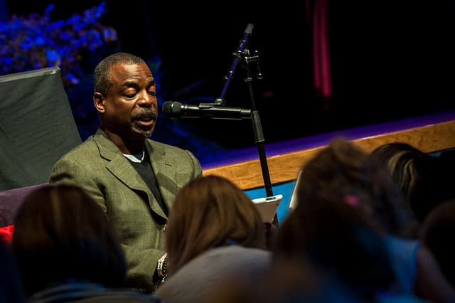 LeVar Burton at Disney Social Media Moms Celebration