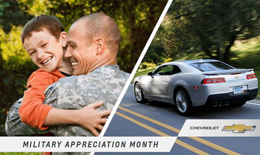 Even if you are currently serving in the military, you can show your support for your fellow deployed brothers and sisters. #ChevySalutes