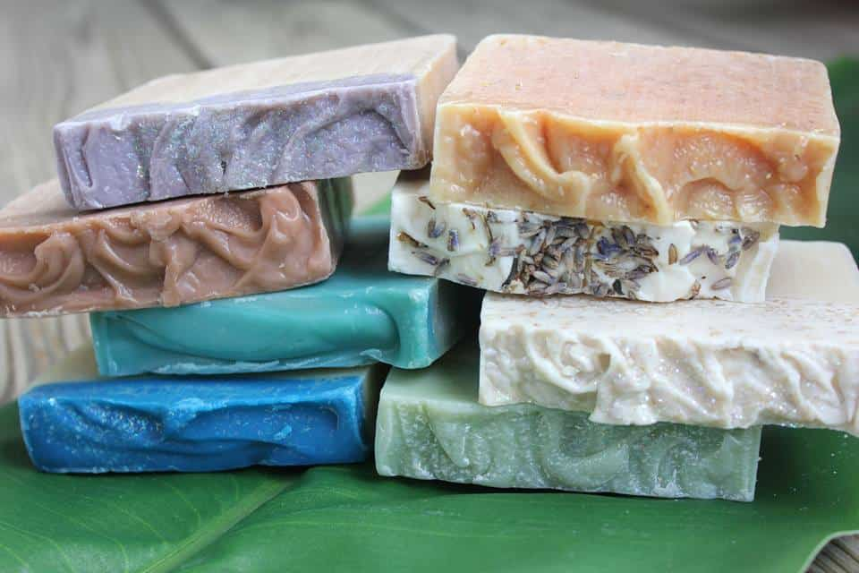 Come clean luxury soaps are a great treat for Mother's Day. The almond cake smells delicious!