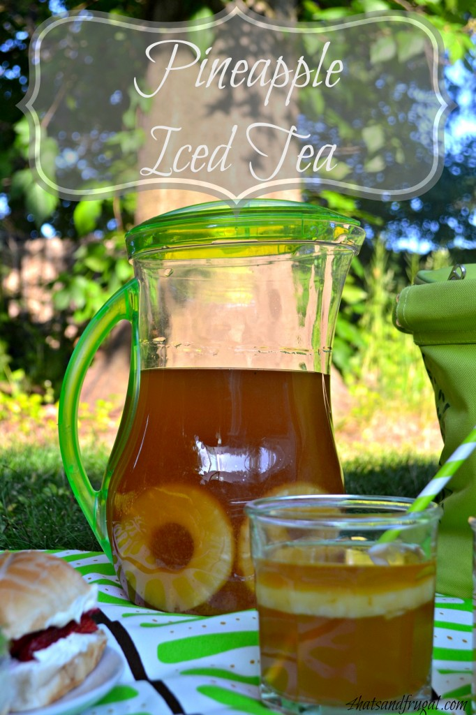 This simple recipe for pineapple iced tea is made with a shortcut ingredient found right in the aisle of Walmart. #TEArifficPairs