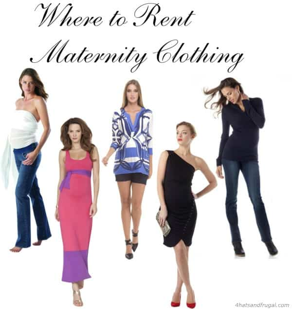 Where to Rent Maternity Clothing - 4 Hats and Frugal