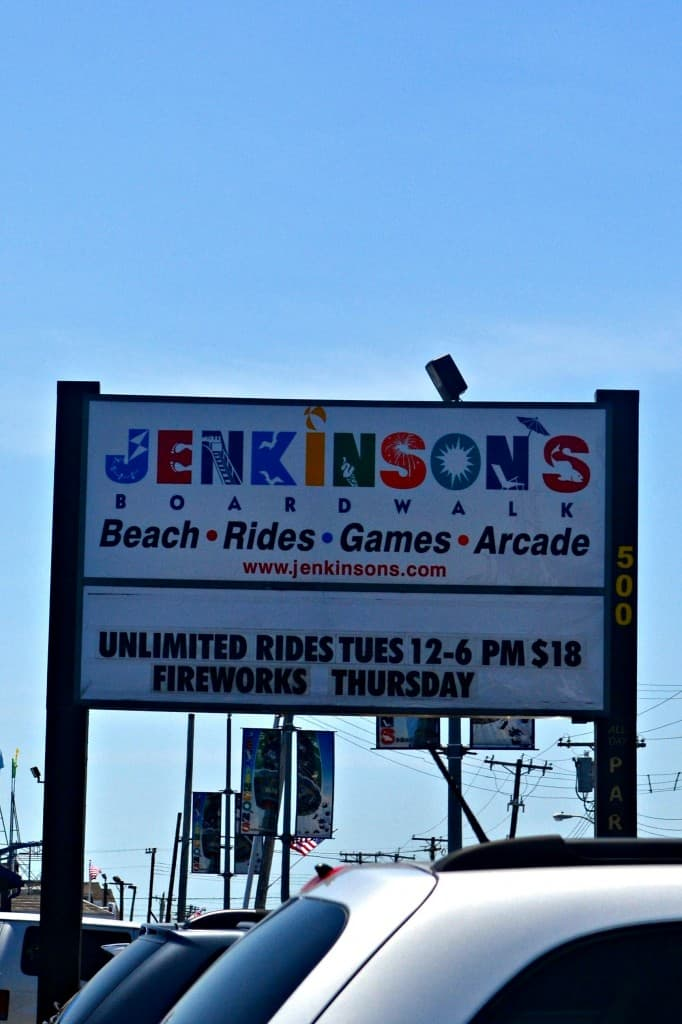 Jenkinson's Boardwalk in Pt. Pleasant NJ