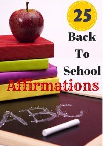 Here is a list of 25 back-to-school affirmations that are a perfect start to a child's day.