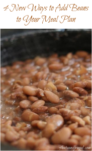 Beans don't have to be boring. Here are 4 new ways to add beans to your meal plan without having your family revolt.