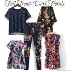 Fall Trend: Dark Florals