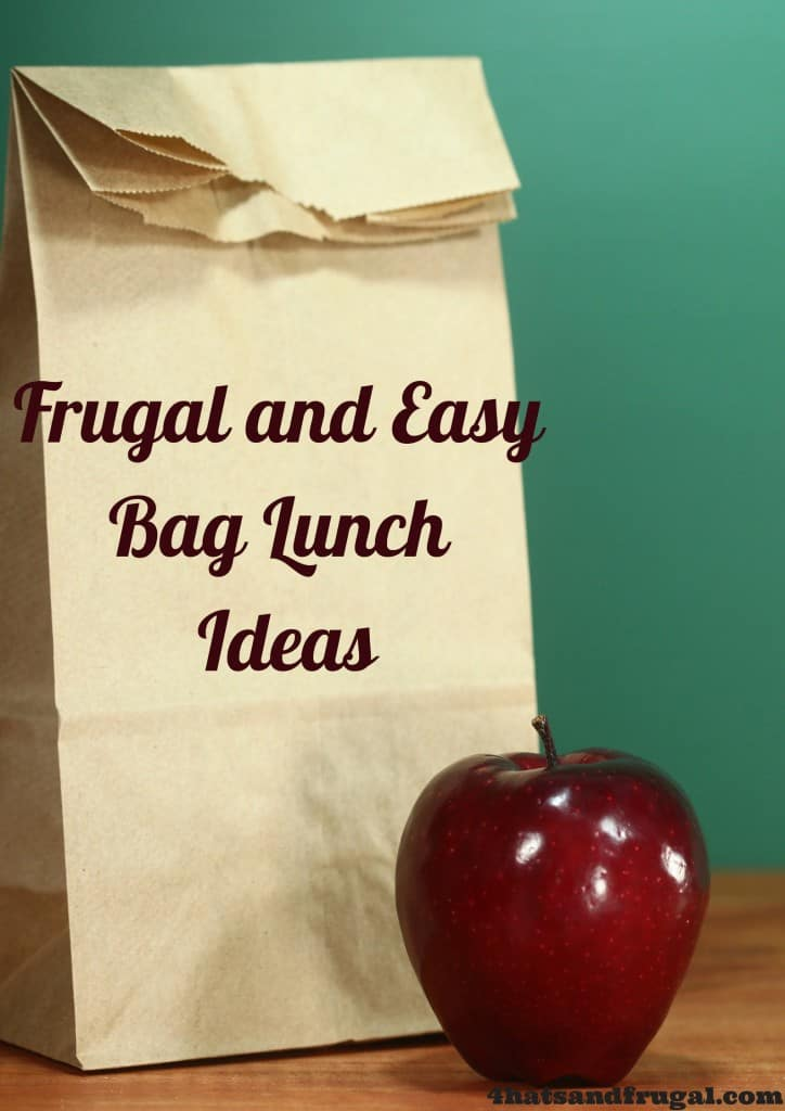 Here's a list of 22 frugal and easy bag lunch ideas for your kids to try this school year.