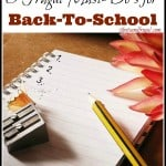 3 Frugal Must-Do's for Back-To-School