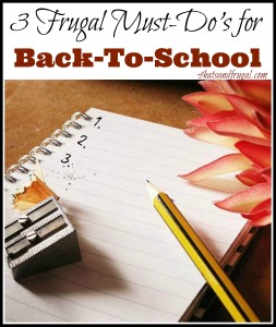Back-to-school is one of the best times to re-evaluate your home finances. Here are 3 simple tips to get your on track for Fall.