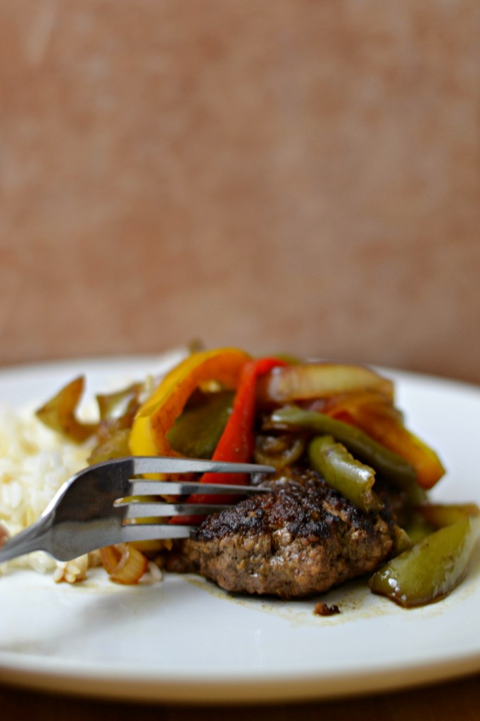 This simple hamburger steak recipe is perfect for an easy weeknight meal. Just six ingredients!