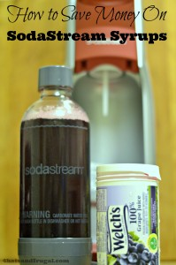 This post gives great tips on how to save money on SodaStream syrups.