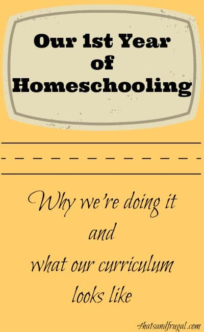 See how this family is taking on their 1st year of homeschooling.