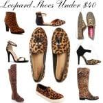 Leopard Print Shoes Under $40