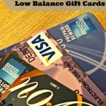 How to Use Up Low Balance Gift Cards