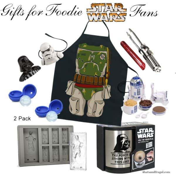 Gifts for Foodie Star Wars Fans - 4 Hats and Frugal