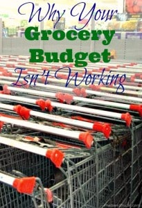 Do you wonder why your grocery budget isn't working for you? The reason may surprise you.