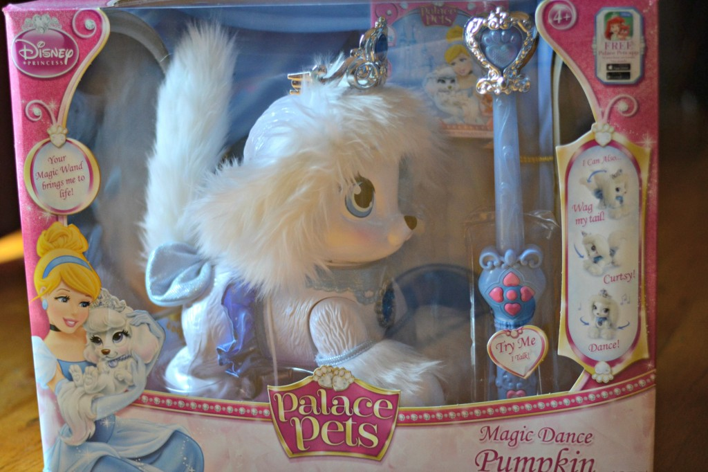 A great review of the Disne Palace Pet Magic Dance Pumpkin, one of the toys one Walmart's Chosen By Kids Top 20 List.