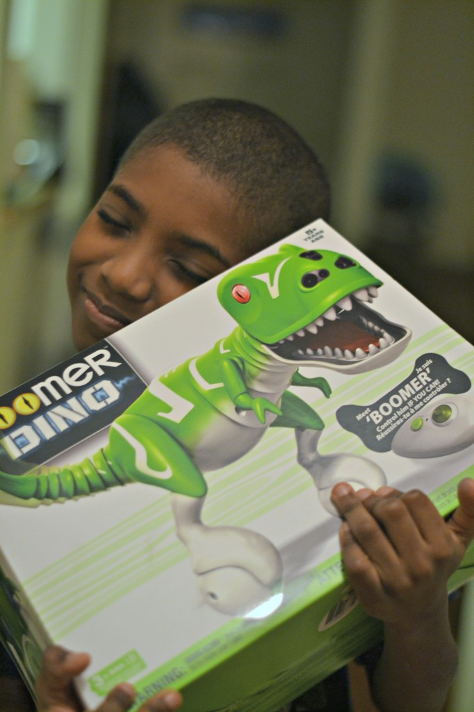 Zoomer Interactive Dino is one of this season's hottest toys, and this 9 year old is excited to get one.