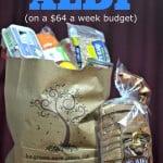 64 Dollar Grocery Budget – Aldi