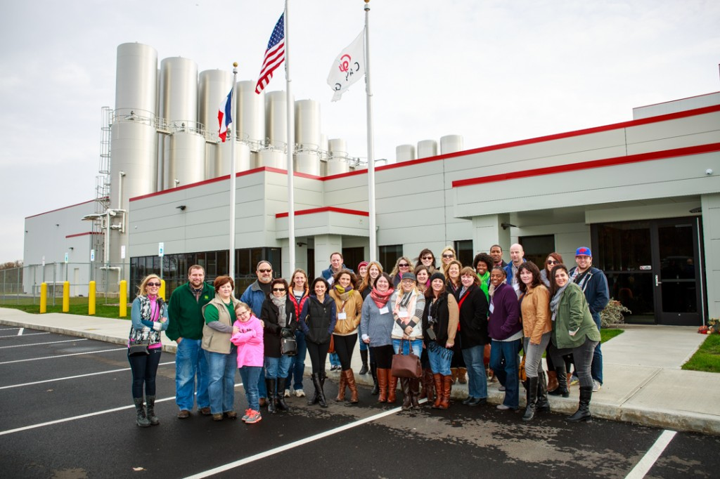 A tour of the Cayuga Milk Ingredients Plant in Auburn, NY. #NYSDairyTour2014