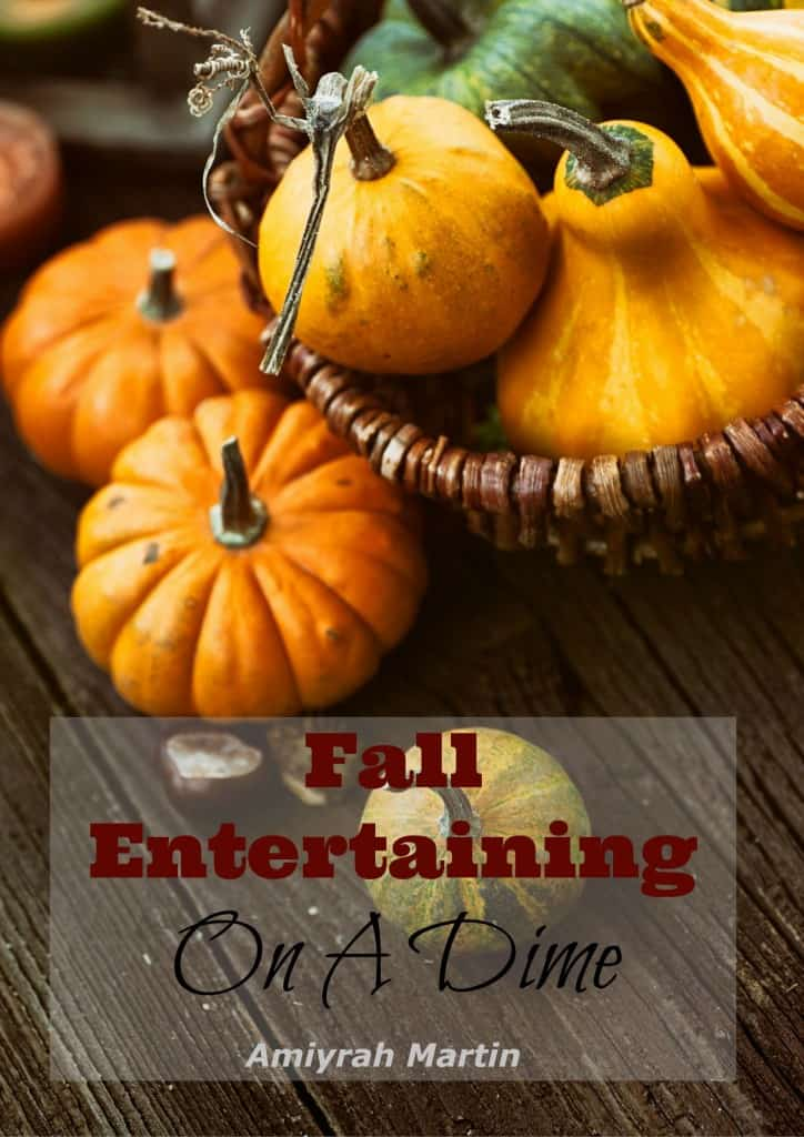 Fall is the perfect time for fellowship. This book shares the secrets to a wonderful fall soiree, without busting your budget.