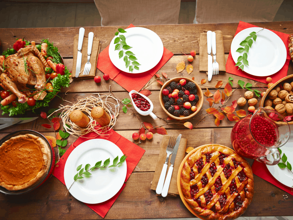 Fall Entertaining on a Dime