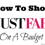 How to Shop JustFab On a Budget