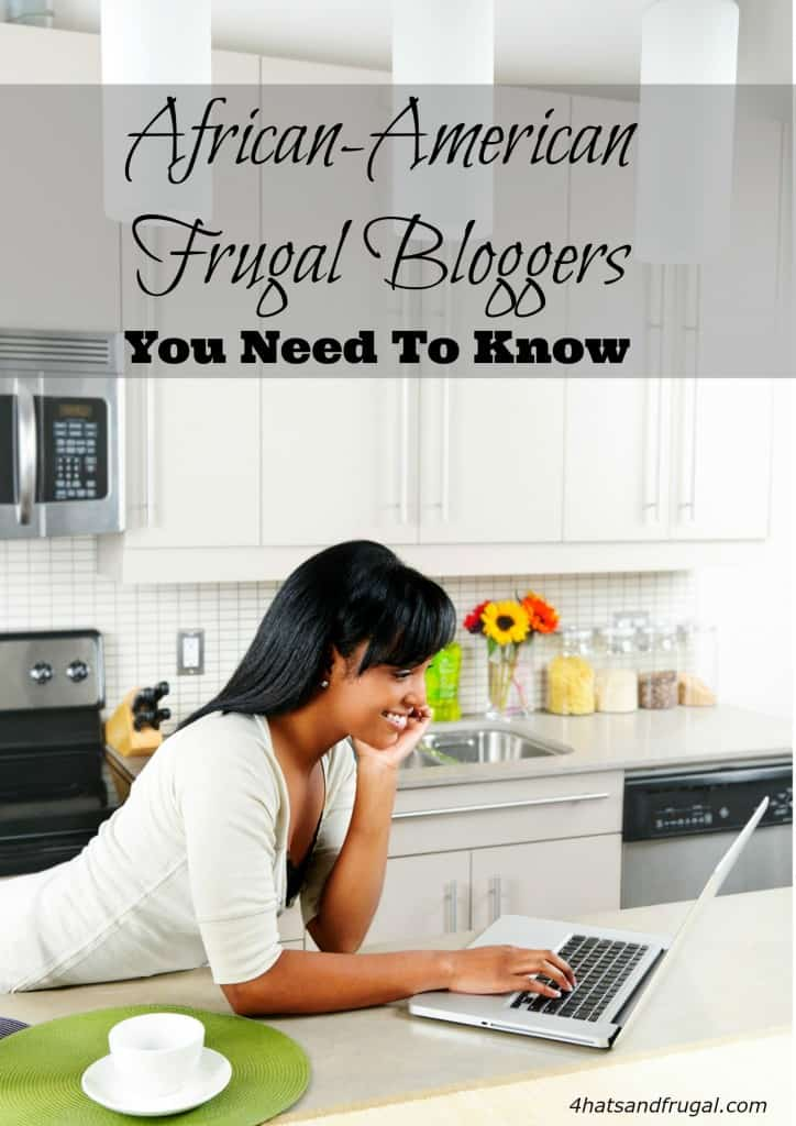 These 5 African-American frugal bloggers have unique takes on living a frugal life. Check them out in this post!