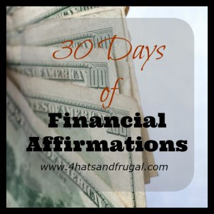 30 Days of Financial Affirmations