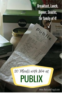 Publix breakdown
