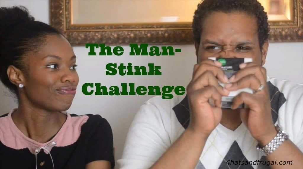 Got a husband that just won't shower as much as you'd like him to? Try out this man-stink challenge, and watch the video. You got this! #MySignatureMove #ad