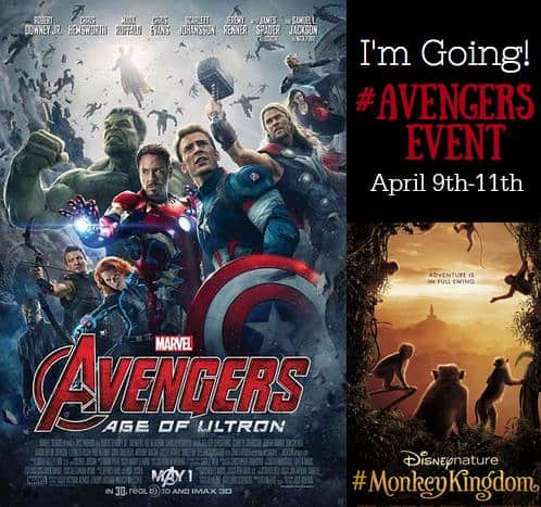 This blogger gets to attend the media event for Avengers: Age of Ultron and Disneynature's Monkey Kingdom! Check out al the cool things she gets to do. #AvengersEvent #MonkeyKingdom #AgentsOfSHIELD