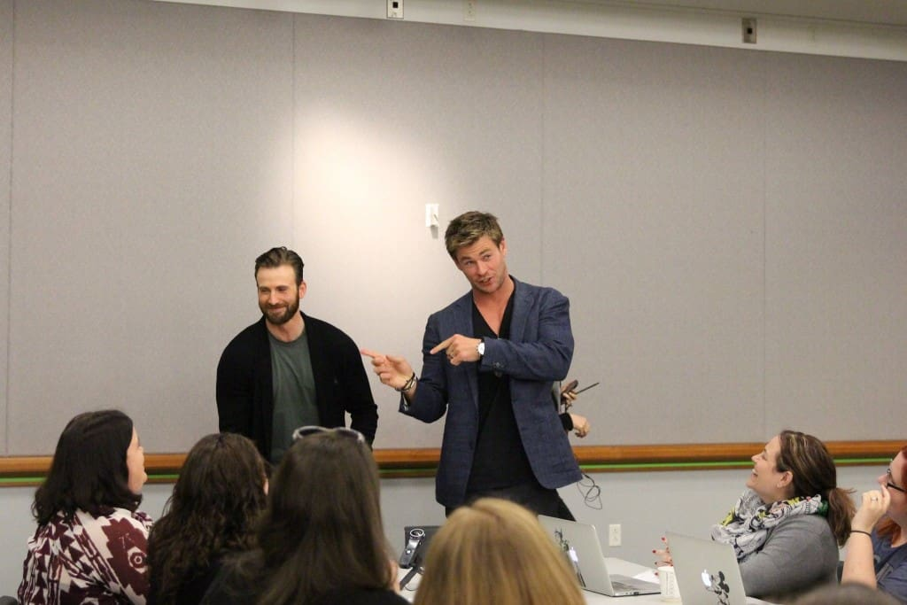 Avengers: Age of Ultron - Chris Evans & Chris Hemsworth #AvengersEvent